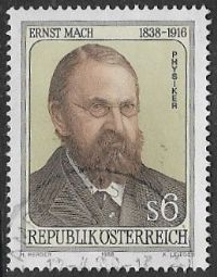 Austria SG2153 1988 150th Birth Anniversary of Ernst Mach 6s good/fine used